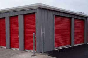 mini storage garage doors
