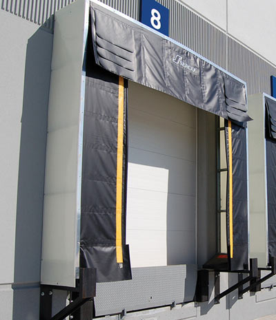 S-420 Series Rigid Frame Dock Shelter