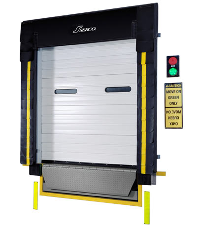 S-700 Series Foam Dock Seal with Head Curtain