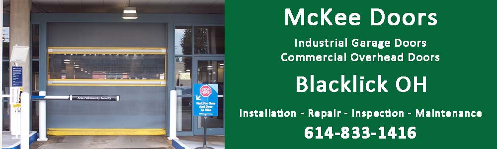 Industrial Garage Door and Commercial Overhead Door installation, repair, inspection and maintenance in Blacklick OH