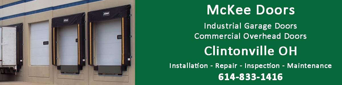 McKee Door Sales commercial overhead door and industrial garage door sales