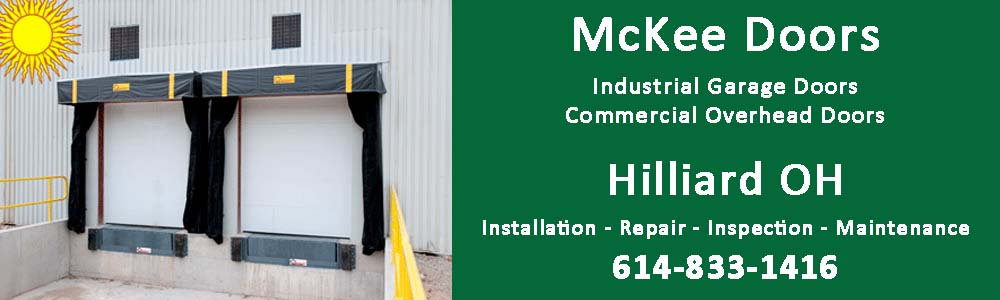 Hilliard Ohio Industrial Garage doors, dock doors and fire doors