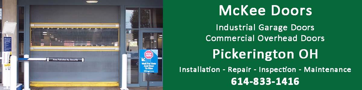 McKee Door commercial overhead door and industrial door sales in Pickerington OH
