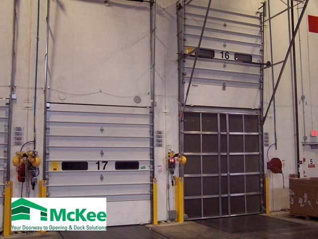 industrial garage doors Dublin ohio