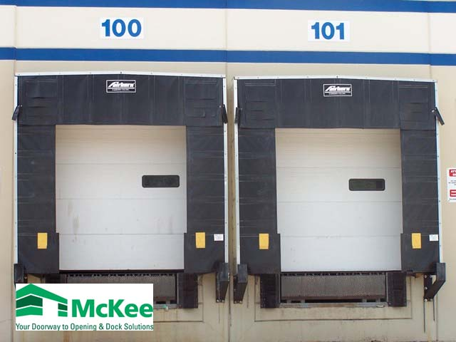 industrial overhead door for truck docks in Grove City