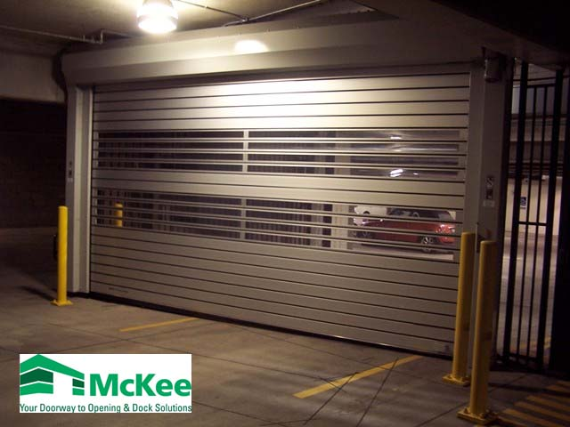 rolling steel doors in Dublin Ohio