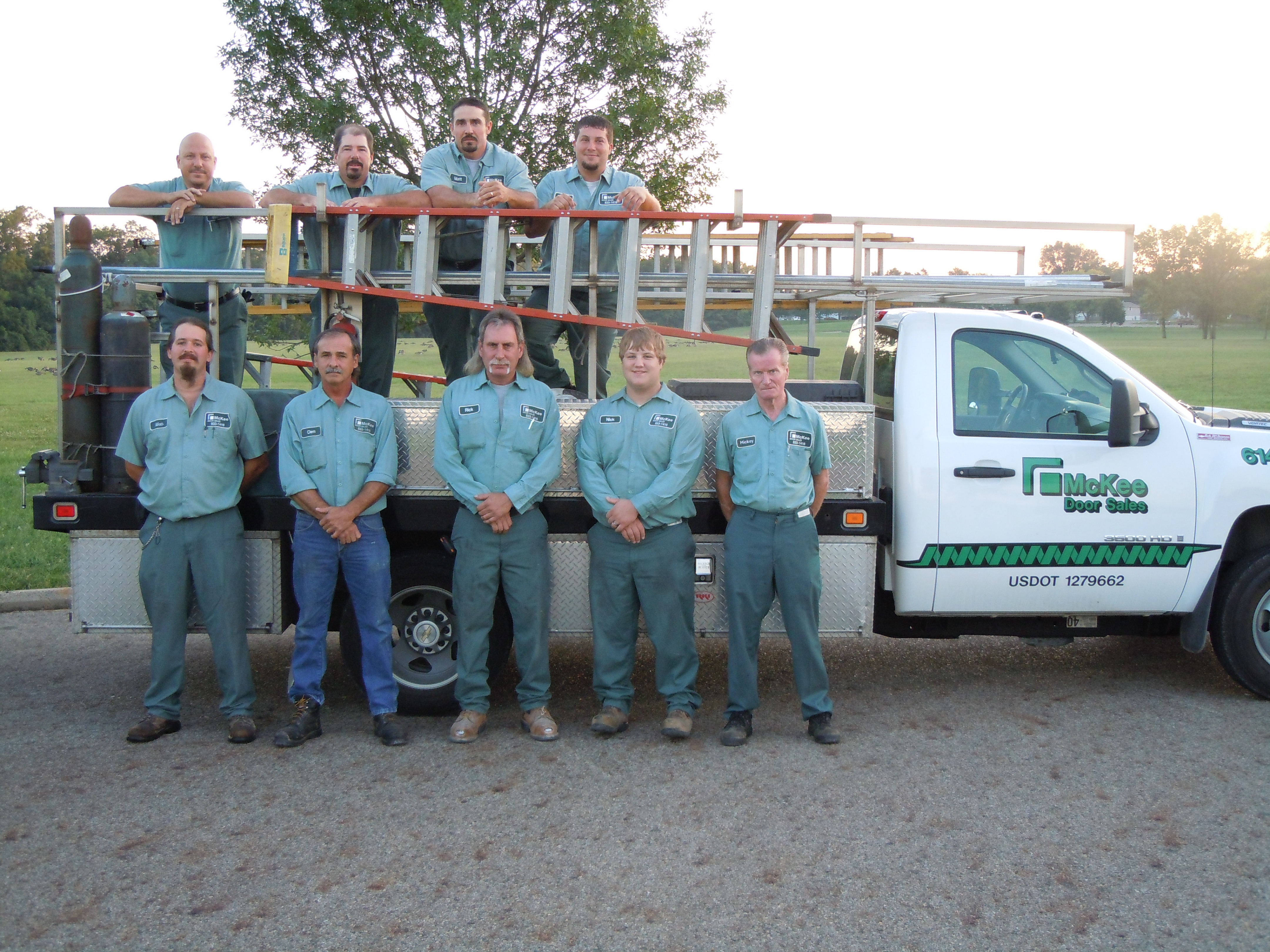 McKee Door Service and Repair staff