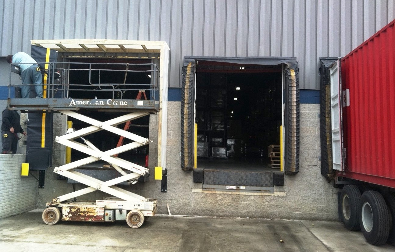 Commercial loading dock repair